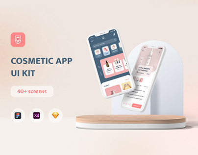 La Muse - UI kit for Cosmetics Mobile Apps