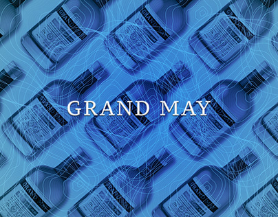 Grand May - Rum of Barbados Packaging Design