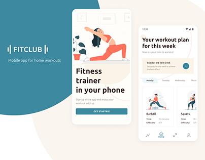 Fitness Mobile App