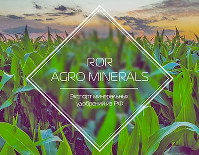 ROR Agro Minerals