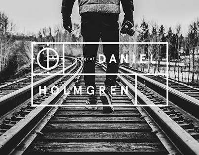 Brand Identity for photographer Daniel Holmgren.