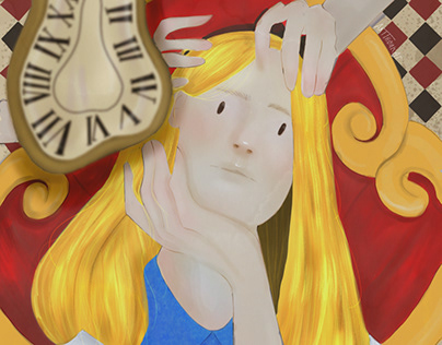 """""""Alice, you're running out of time"""""""