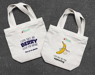 Fruitshop: Eco friendly bag design