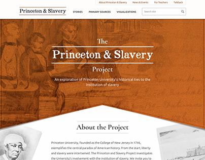 Princeton & Slavery Website
