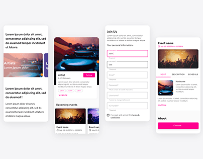 Time With - UI Design