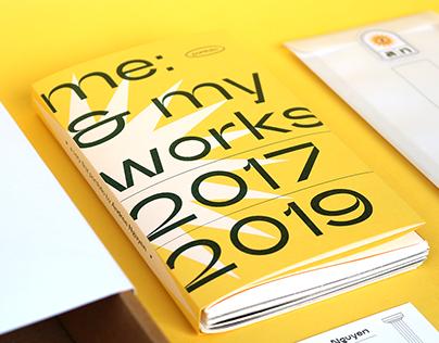 me: & my works 2017 → 2019