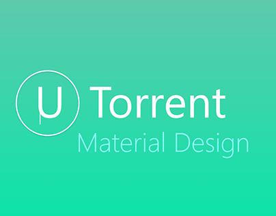 U Torrent Material Design