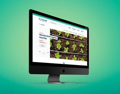 Kulker online store redesign