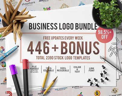446 Business Logo Bundle