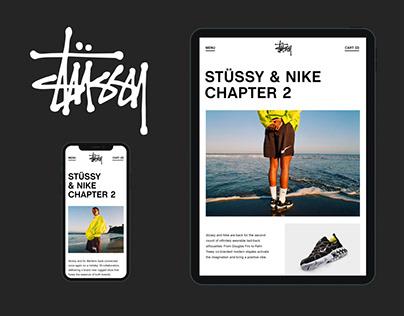 Stüssy — Online Store Design Concept
