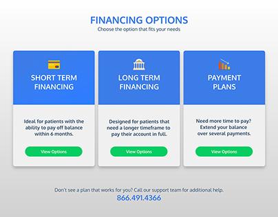Financing Options Prototype