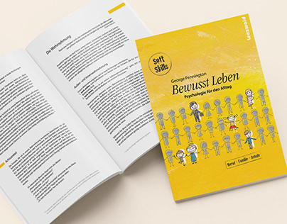 Book design and illustration // Bewusst Leben