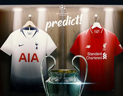 champions league final 2019 social media design