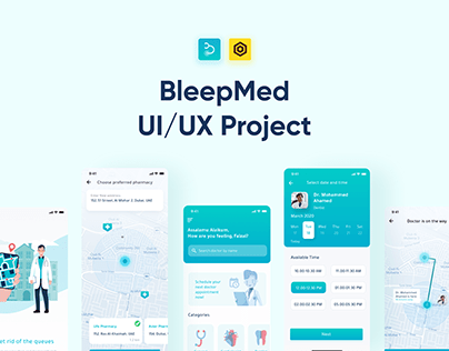 BleepMed - Doctor booking app