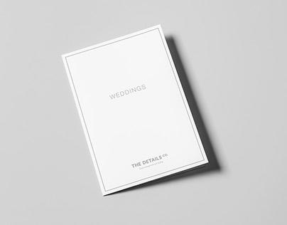 Weddings Bi-Fold Brochure