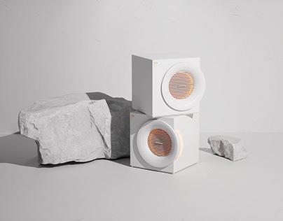 IU+White Moonlight Humidifying air heater
