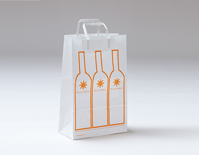Bag Design for Planet Wein - Winery Berlin