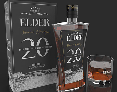 Elder - Whiskey Package Design