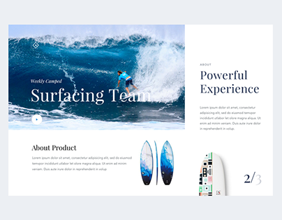 Daily UI 019 - Surfing Camp