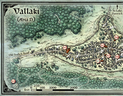 The Town of Vallaki