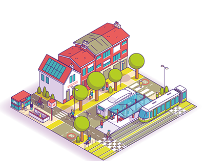Isometric town elections