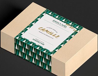 Boîte de Noël personnalisée | Projet personnel