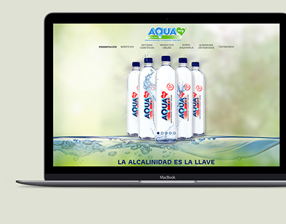 Aqua Ph9 ® - Web Design