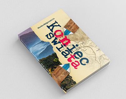 Projekt książki, okładka strona tytułowa i ilustracje