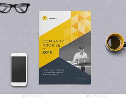 Company Profile On Behance