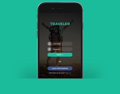 Traveler Mobile App Template