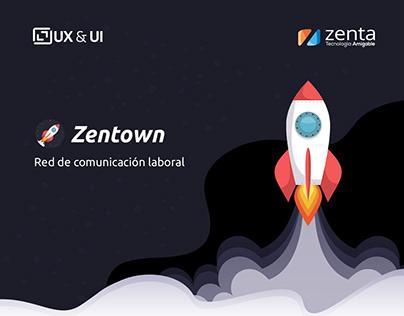 UX / UI Red comunicación interna Laboral