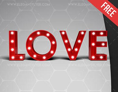 Love – Free 3d Render Templates
