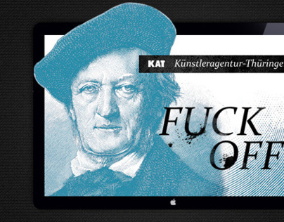Web Design: Artist Agency Thüringen / Germany
