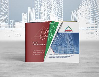 Catalog-brochure AZLUX Construction