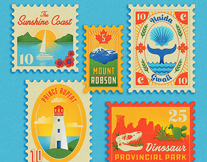 Canada 150 Stamps