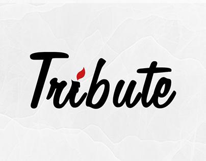 Tribute App - Logo Design