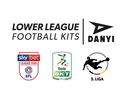 Lower league football kits.