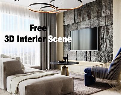 Free 3D Interior Scene