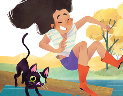Summer with Cat