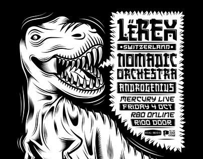 LeRex Gig Poster