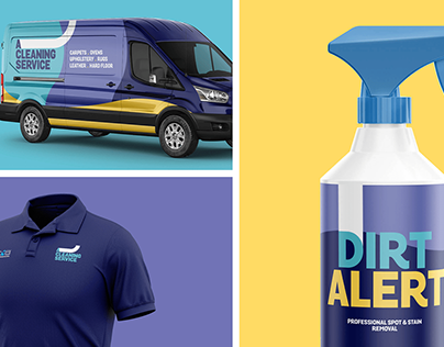 'A Cleaning Service' Rebrand & Web Design