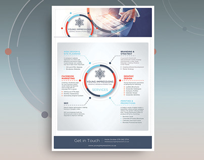 Logo and Brochure Design - Young Impressions