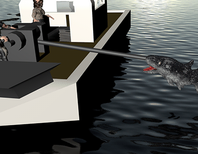 Shark Hunting Movie Feeds The Mind