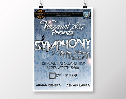 Instrumental Competition Poster