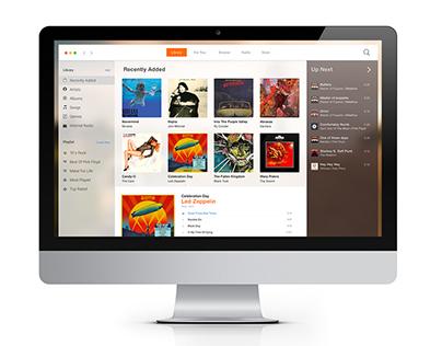 Apple Design Concept: UI iTunes