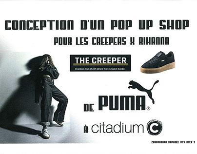 Projet BTS - Corner Pop Up Shop PUMA