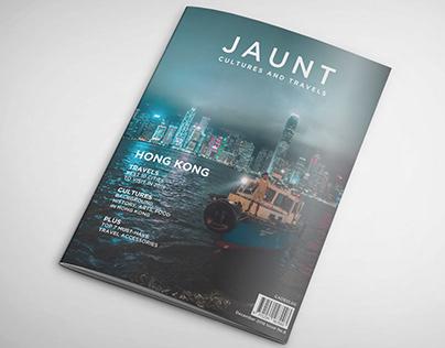 Jaunt Magazine Design