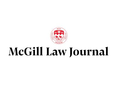 McGill Law Journal