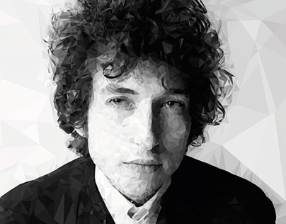 Bob Dylan - Low Poly