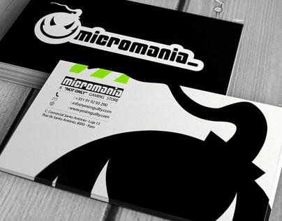 Micromania Branding